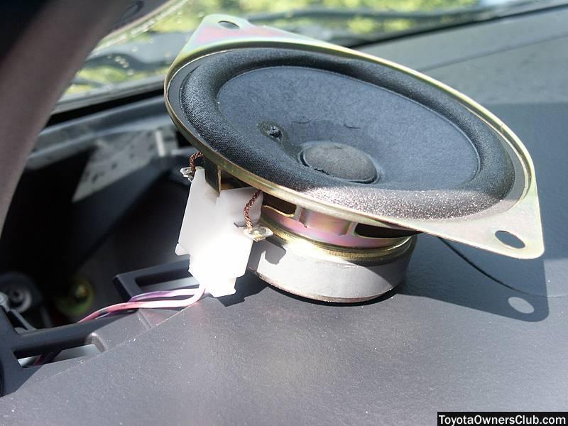 Yaris Dashboard Speaker Upgrade Yaris Club Toyota
