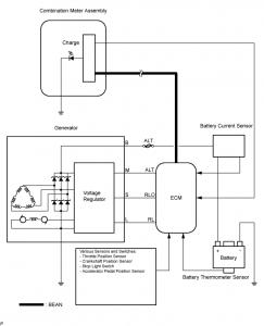 2ad ftv charging electrical wiring diagram avensis club toyota rh toyotaownersclub com