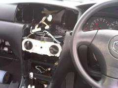 Stock stereo and panels removed