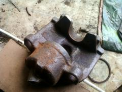 callipers removed
