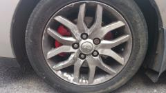 Red front caliper