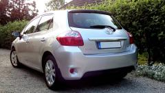 toyota auris 1.6 2012 back