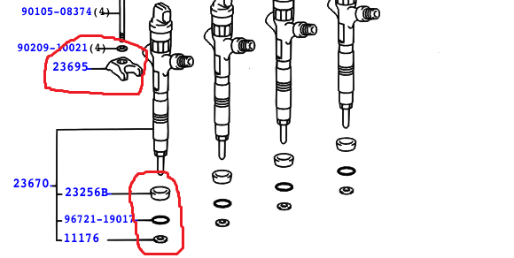 injector loose - Rav 4 Club - Toyota Owners Club - Toyota Forum