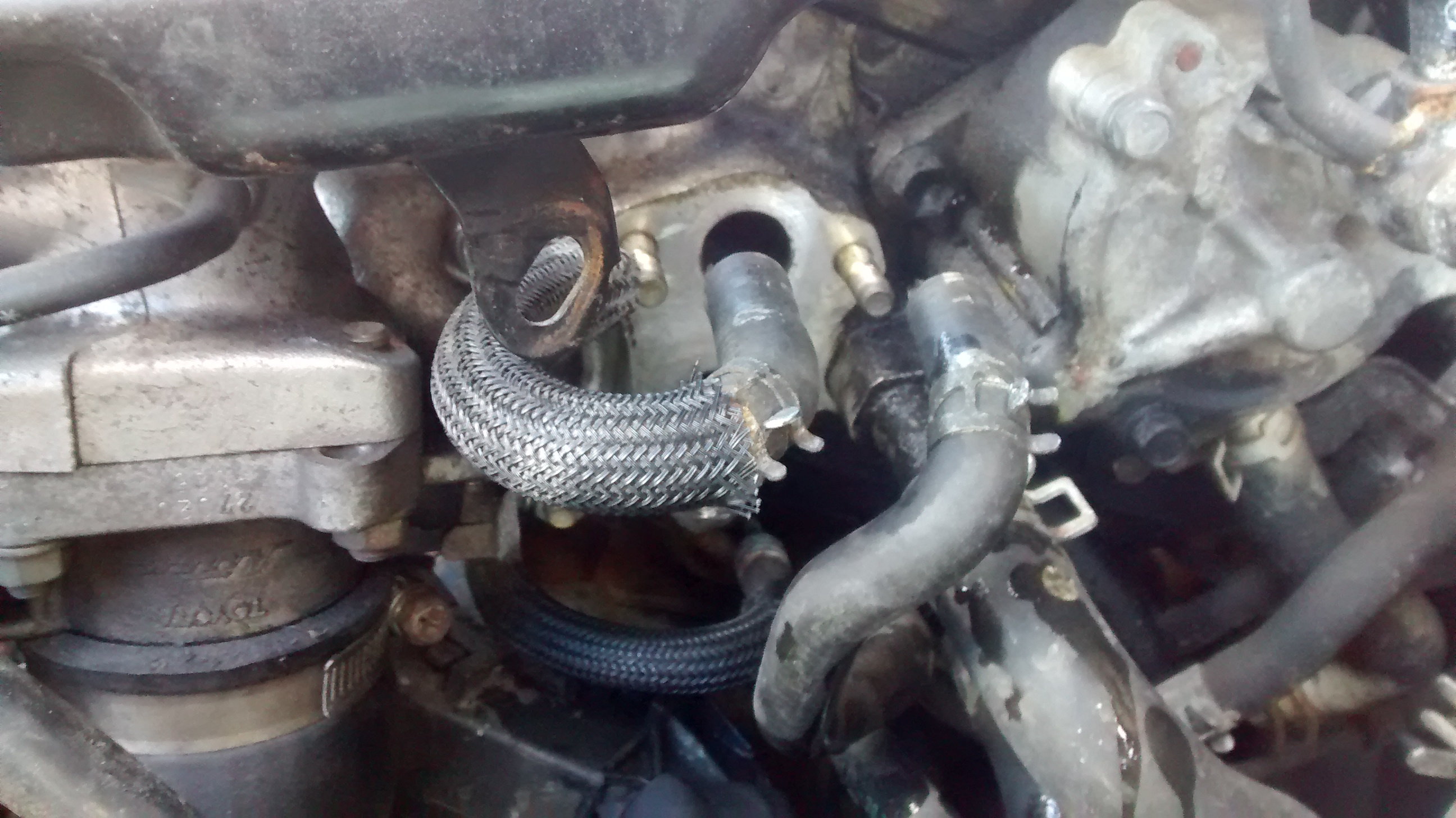 SCV and PCV valve location? - Avensis Club - Toyota Owners