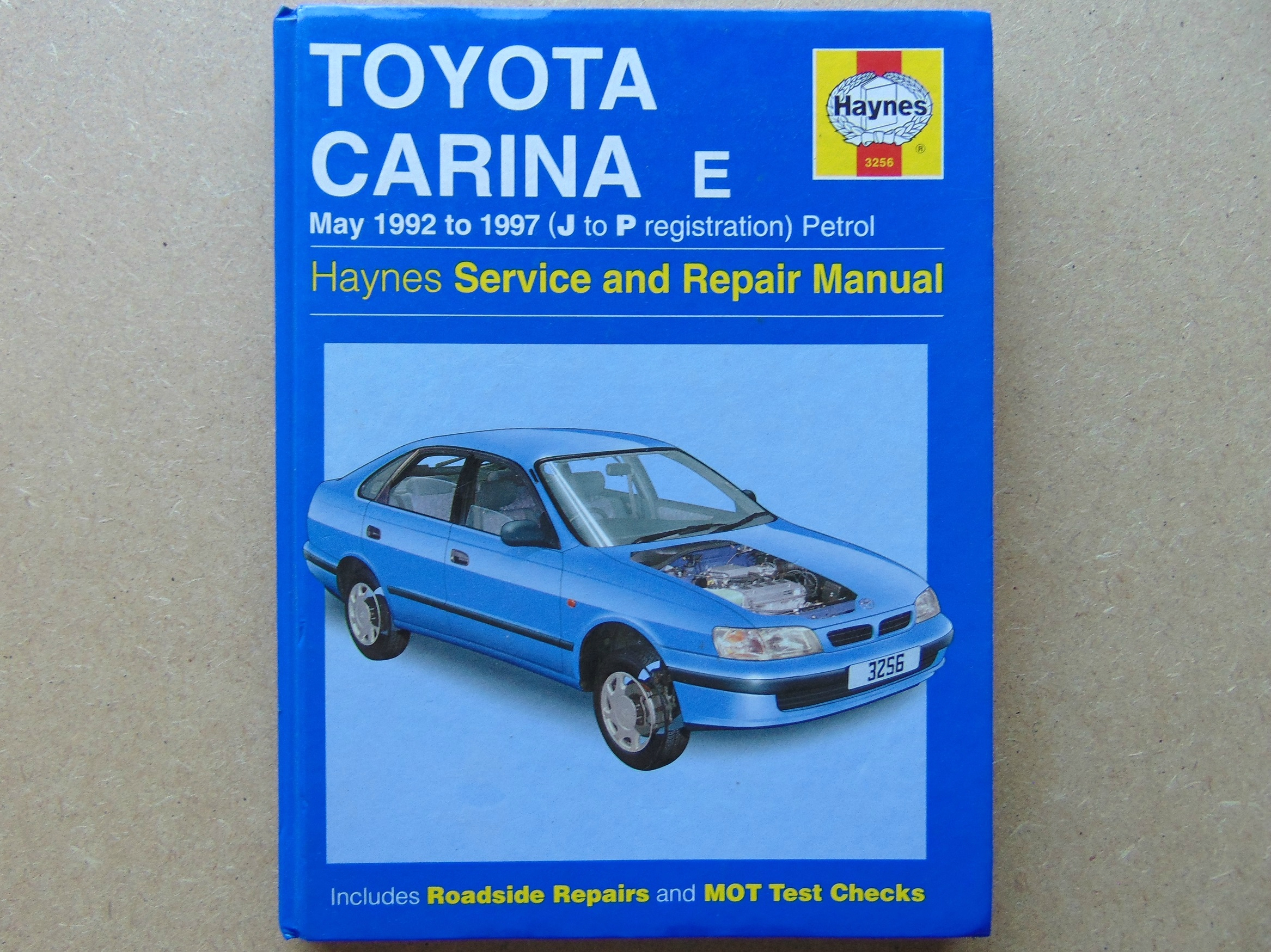 Carina E Service Manual 1999 Chrysler T 038 C Limited 38 Digital Transmission Fuse Box Diagram Array Toyota Petrol Haynes Repair Covers May 92 97 J Rh Toyotaownersclub