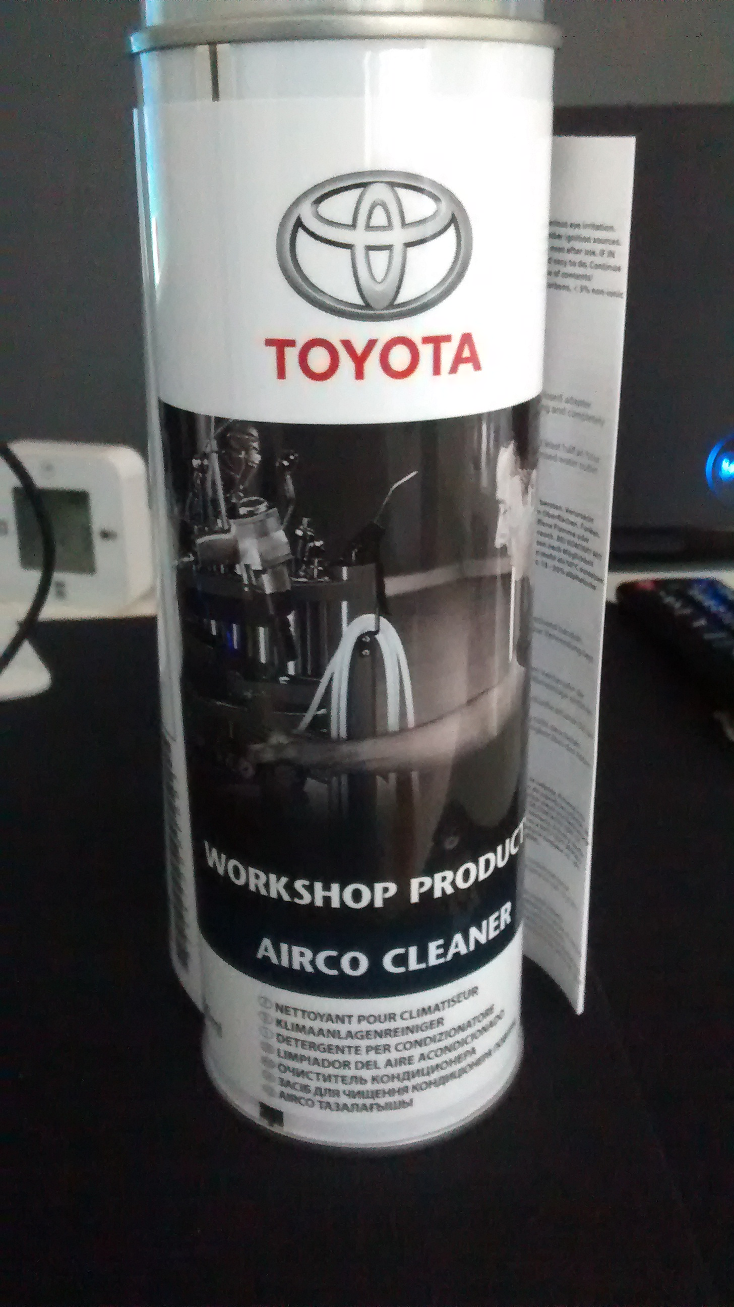 Verbazingwekkend Please help on how to use the Toyota Airco Cleaner - Avensis Club OG-13