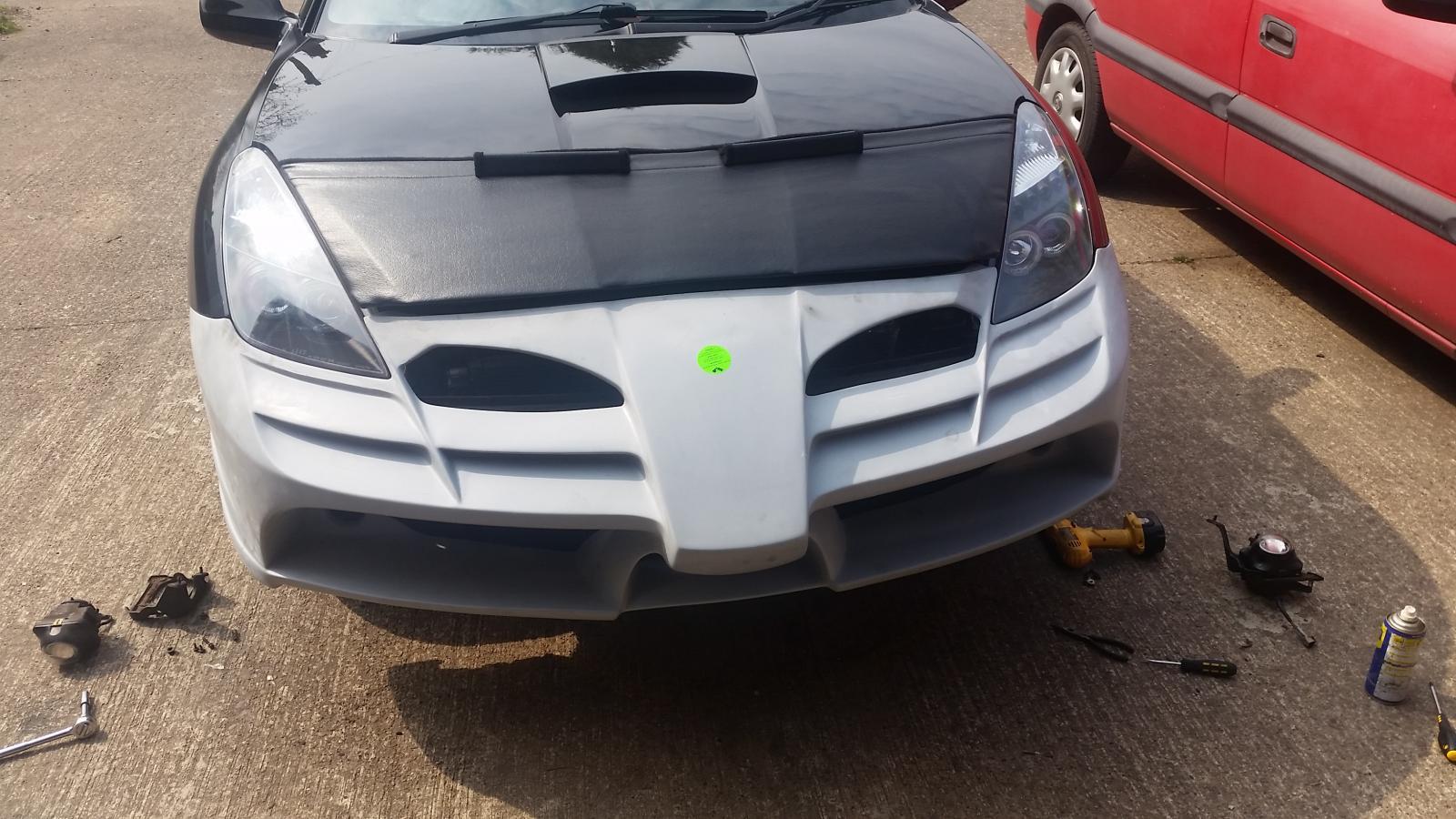 Ferrai f1 bumper