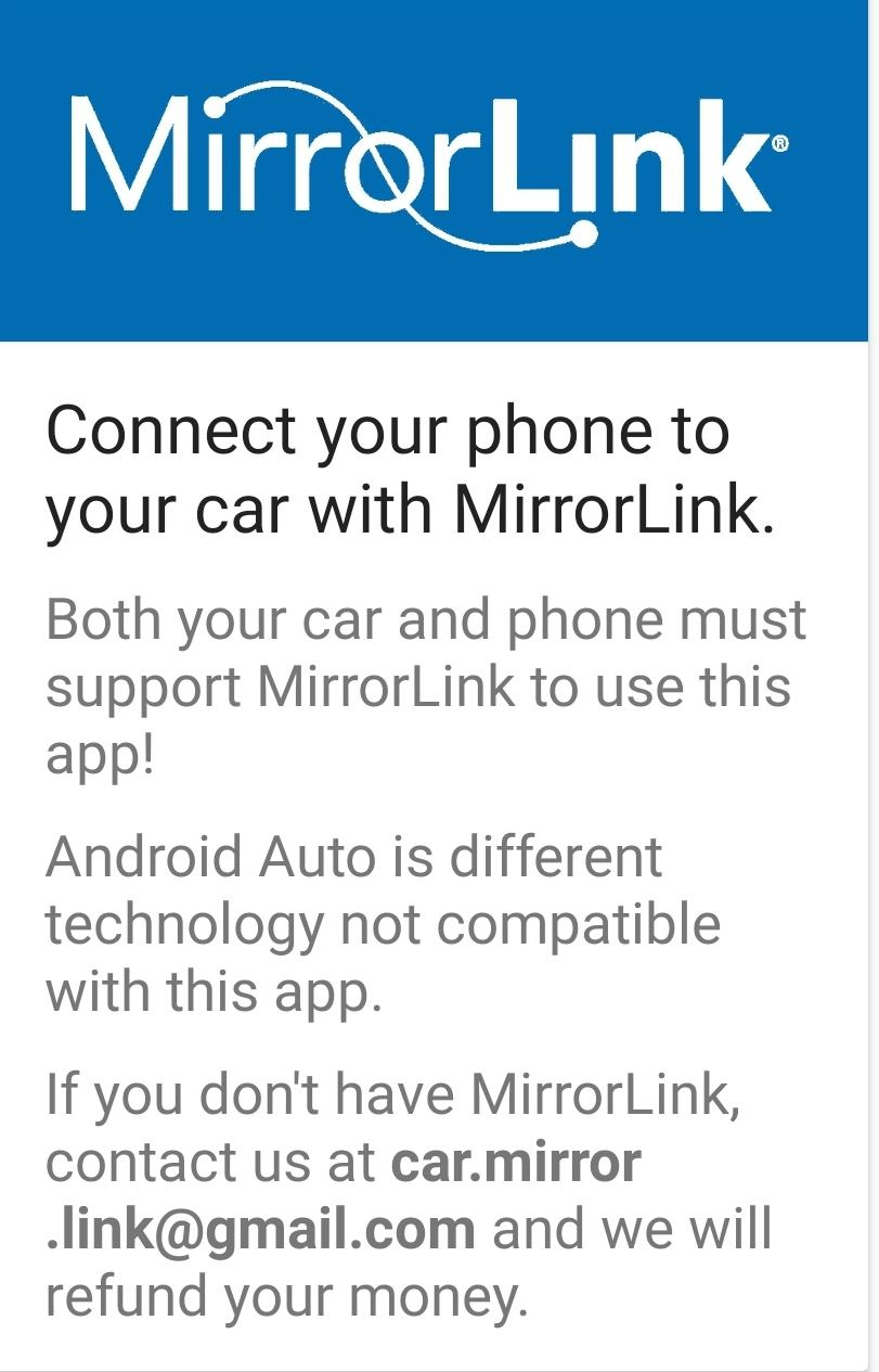 How To Use Mirrorlink
